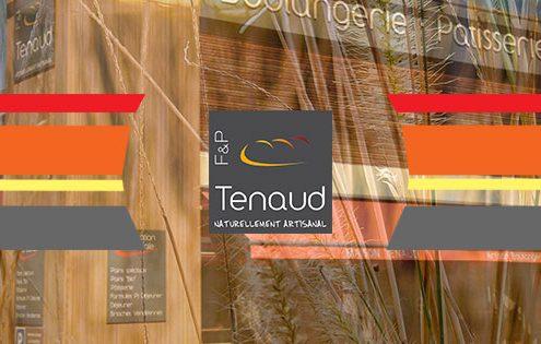 Photomontage Bannière Site internet Boulangerie Tenaud par Confitacom