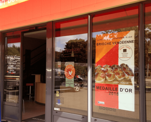 Affiche Boulangerie Tenaud