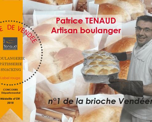 Photomontage réseaux sociaux boulangerie Tenaud