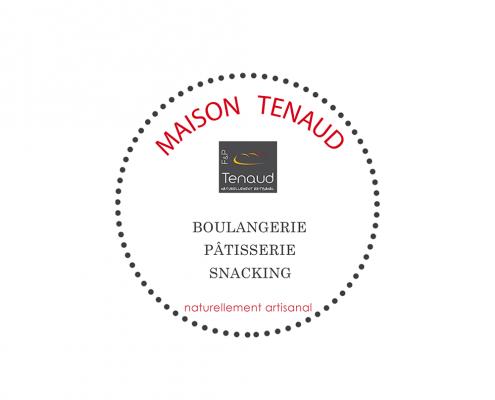 Logo création boulangerie Tenaud La Roche sur Yon