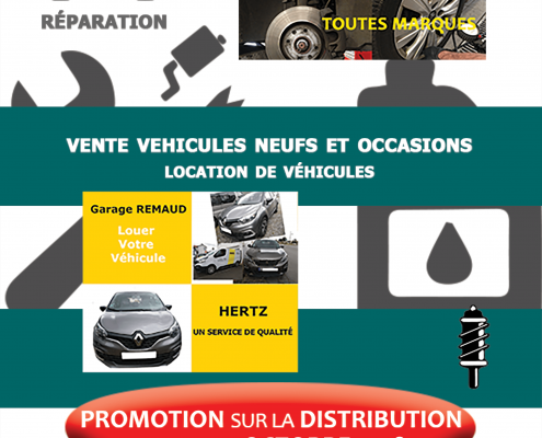 Flyer Portes ouvertes Garage Remaud